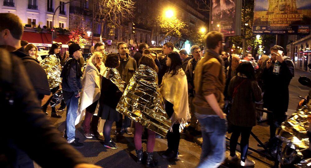 Les attentats, évènements de l'année 2015 sur Twitter France