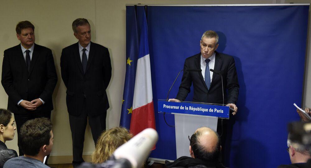 Conférence de presse du procureur de la République