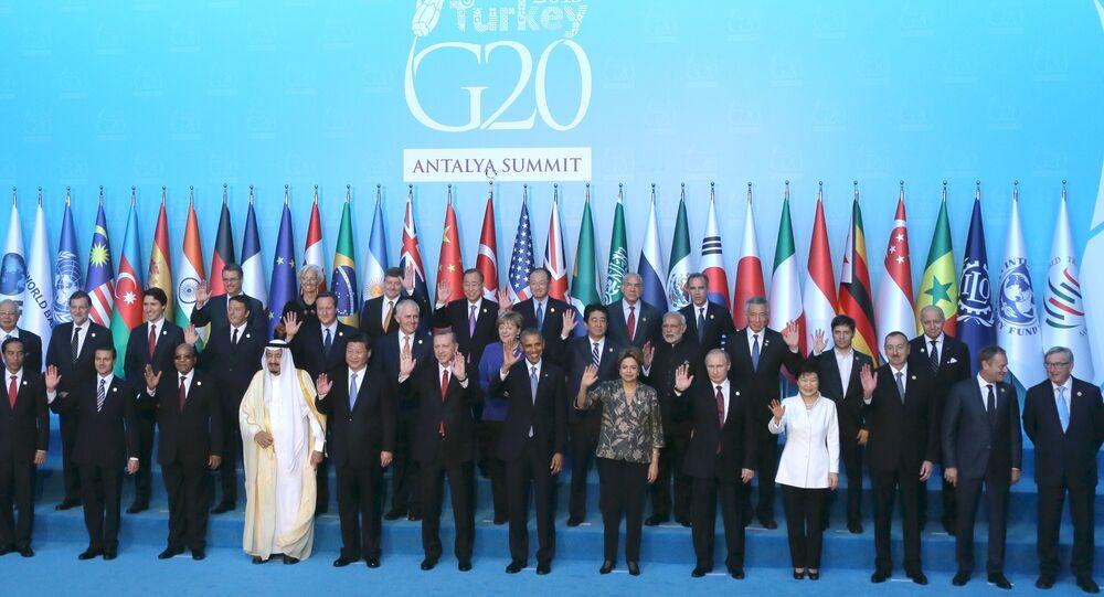 Le sommet réunissant les chefs d'Etat et de gouvernement des pays membres du G20 a été officiellement ouvert dans la province turque d'Antalya.