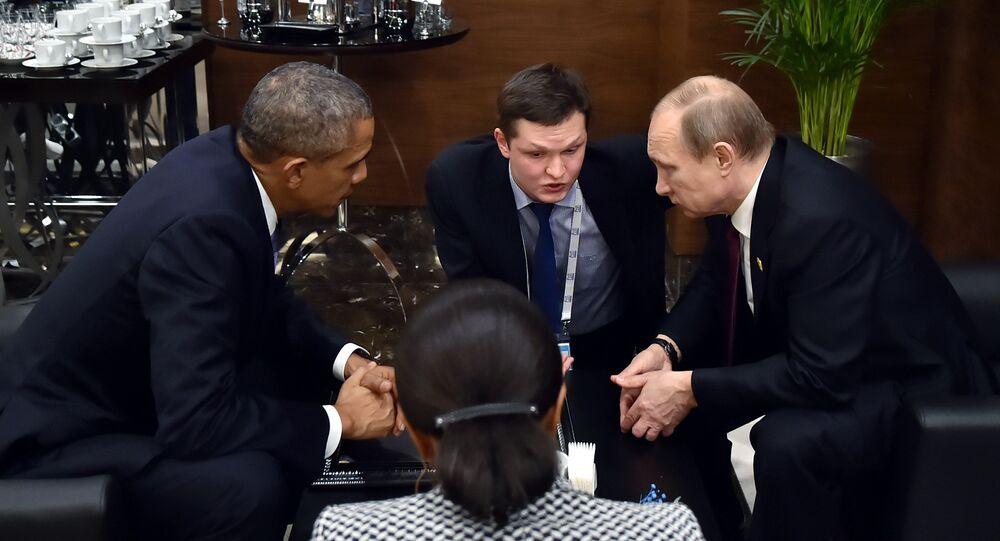 Entretien imprévue entre Vladimir Poutine et Barack Obama au sommet G20