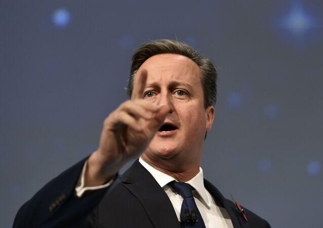Le premier-ministre britannique David Cameron
