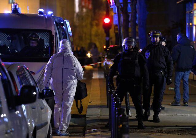 le stade de France après l'attentat du 13 novembre 2015