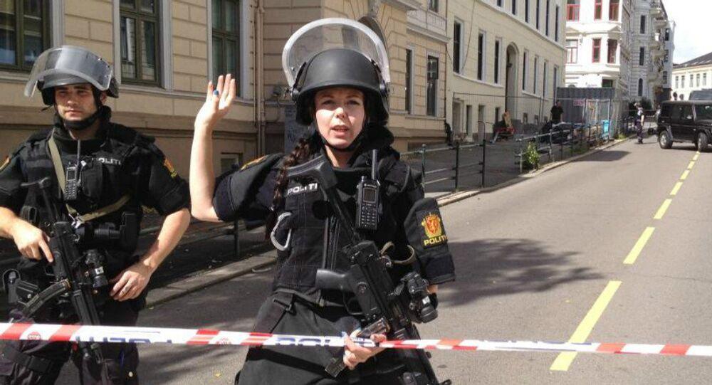 Les policiers norvégiens