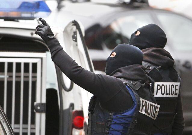 Raid antiterroriste de la police belge