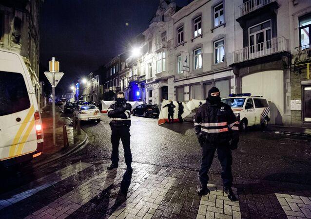 Opération antiterroristes à Verviers
