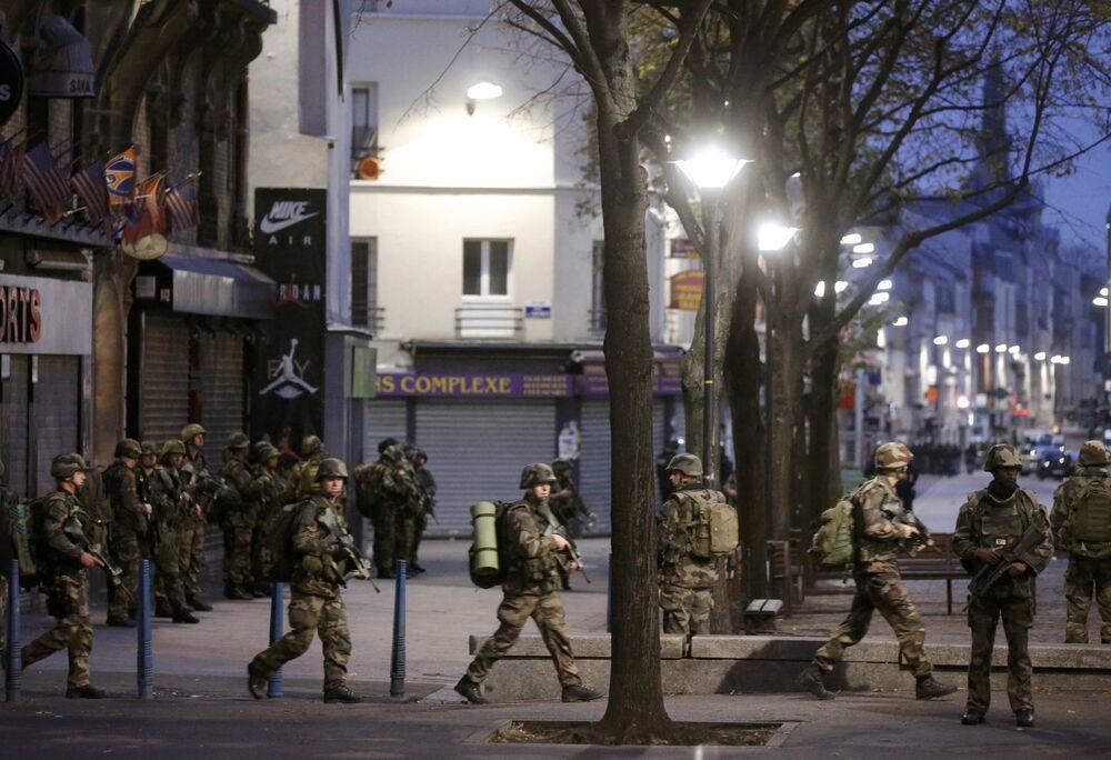 Opération antiterroriste à Saint-Denis