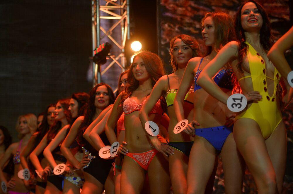 Les lauréates du concours Beauté de Russie
