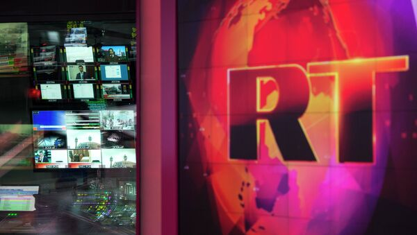 La chaîne Russia Today - Sputnik France