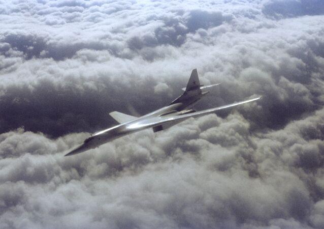 Un bombardier stratégique russe Tu-160
