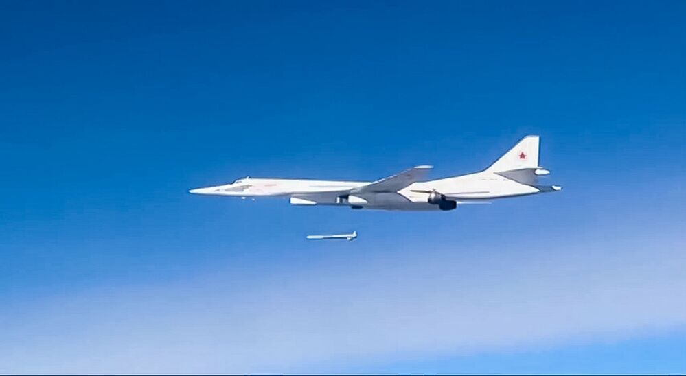 Les frappes de l'aviation stratégique russe sur les positions de l'EI