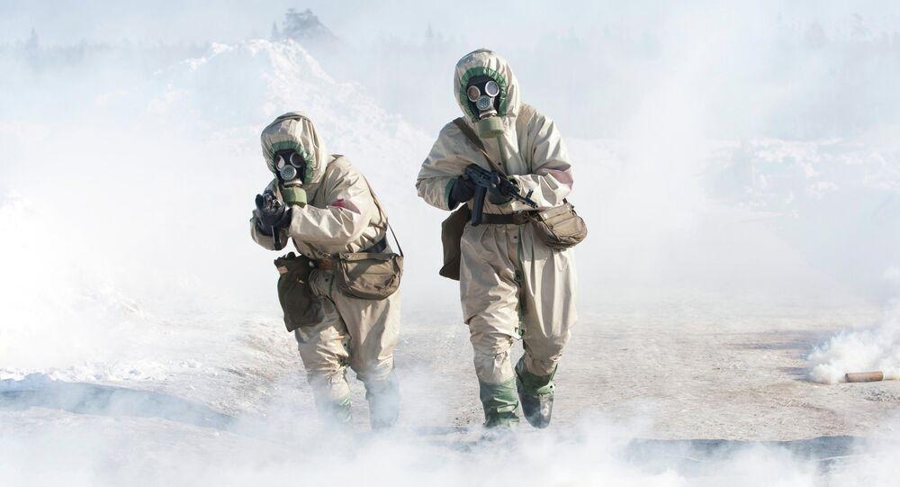 Armes chimiques, image d'illustration
