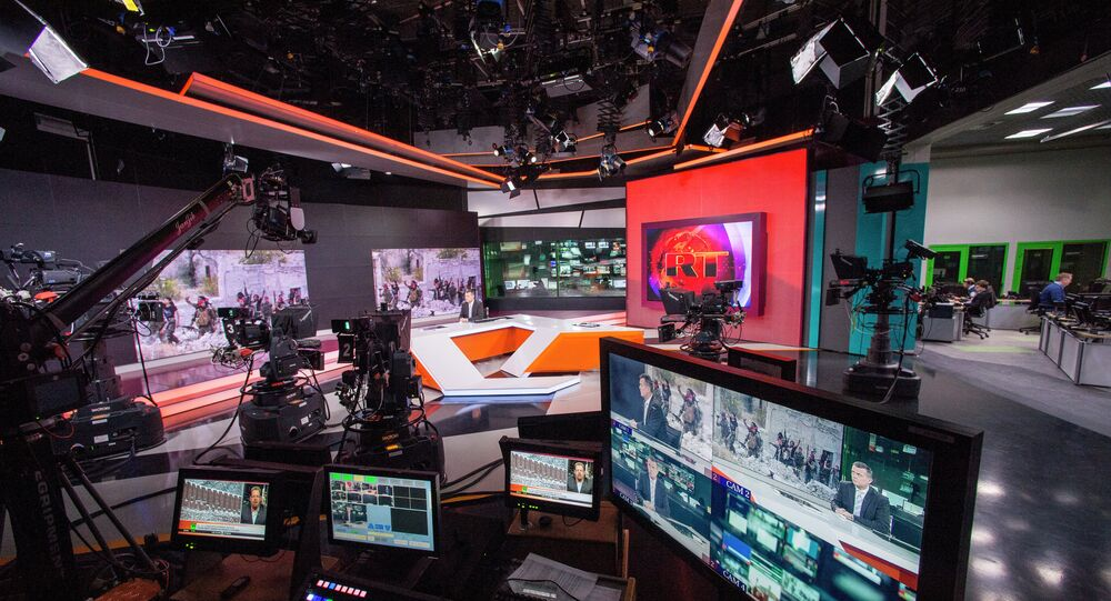 La chaîne russe RT