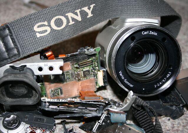 caméra cassée