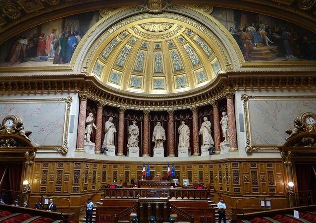 Palais du Luxembourg. Salle du Sénat