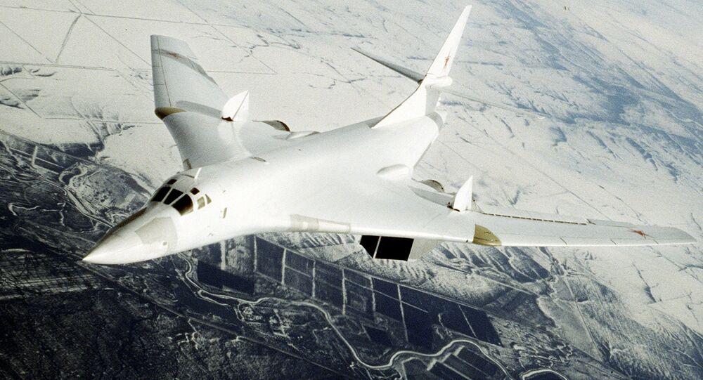 Bombardier stratégique russe Tu-160