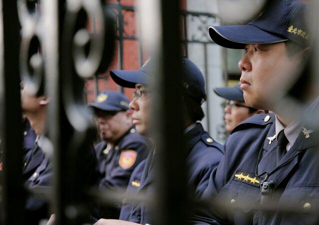 La police chinoise