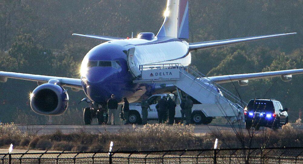 Avion de Southwest Airlines
