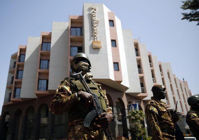 Hôtel Radisson à Bamako, Mali, Nov. 21, 2015.