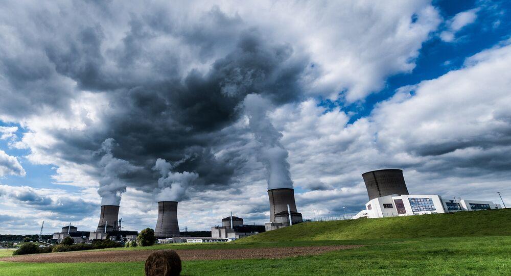 Centrale nucléaire, Lorraine, France