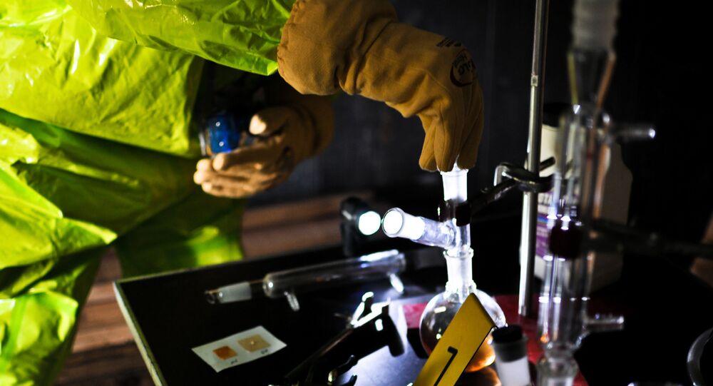 antidote au gaz sarin