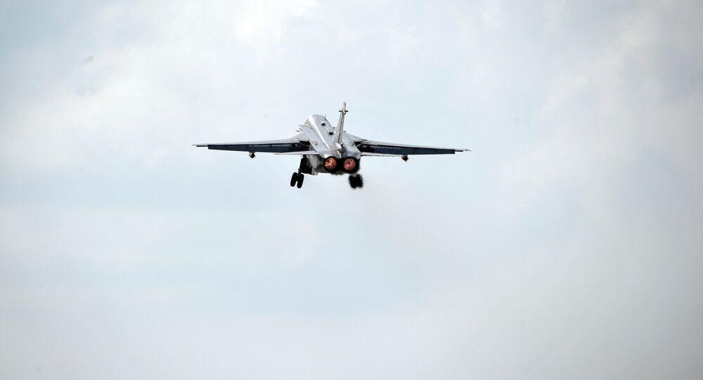 Un Su-24 russe en Syrie (archives)