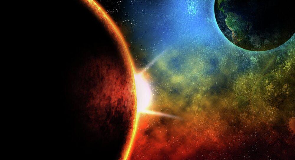 Le Mars et la Terre
