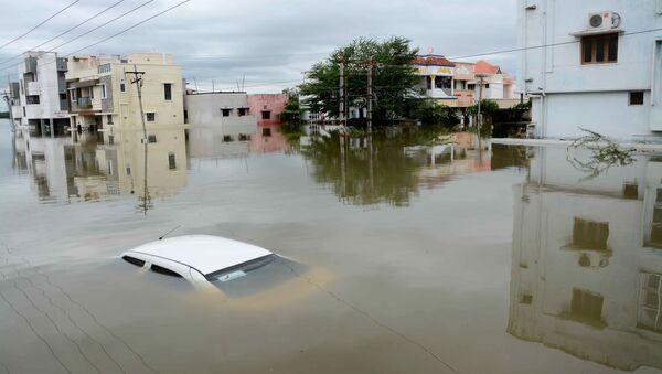 Inondation en Inde, Nov. 17, 2015. - Sputnik France