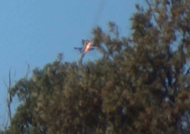 Su-24 abattu sur la frontière syro-turque