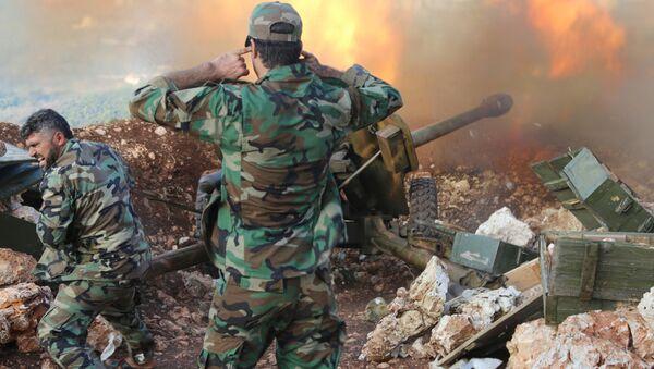 Un combat entre l'armée syrienne et les djihadistes à la frontière turco-syrienne - Sputnik France