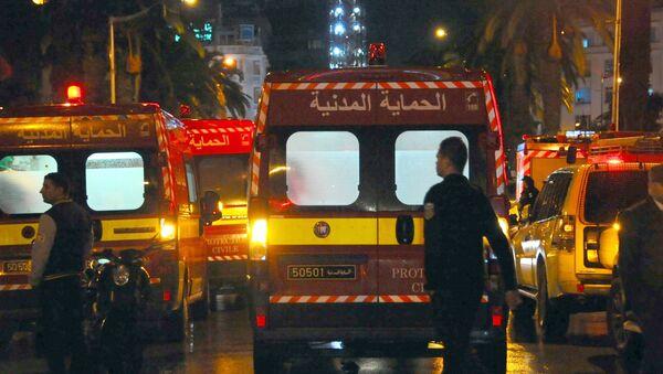 Un raid de la police tunisienne - Sputnik France