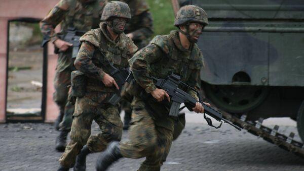 Militaires allemands. Image d'illustration - Sputnik France