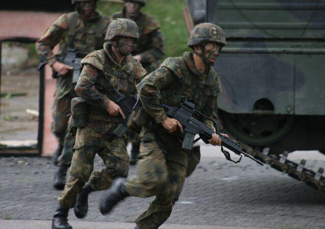 Militaires allemands. Image d'illustration