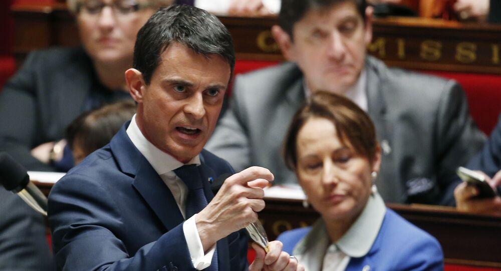 Manuel Valls, Nov. 25, 2015.