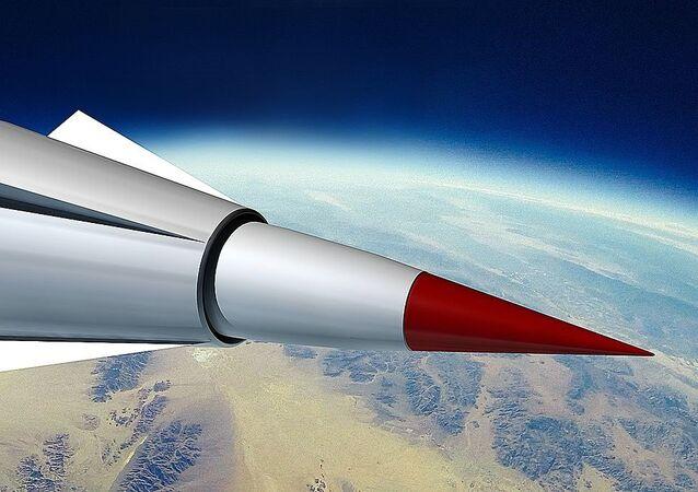 Concept de l'engin hypersonique chinois Wu-14