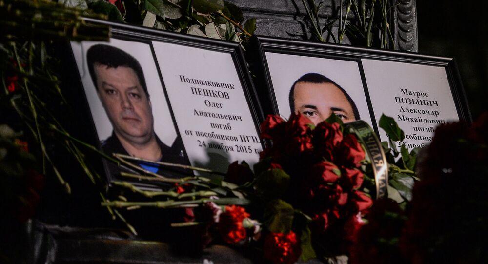 La tragédie qui s'en est suivi avec la mort d'un des deux pilotes de l'avion, le colonel Oleg Pechkov et la marine Alexandre Pozynitch, a choqué grand nombre de personnes