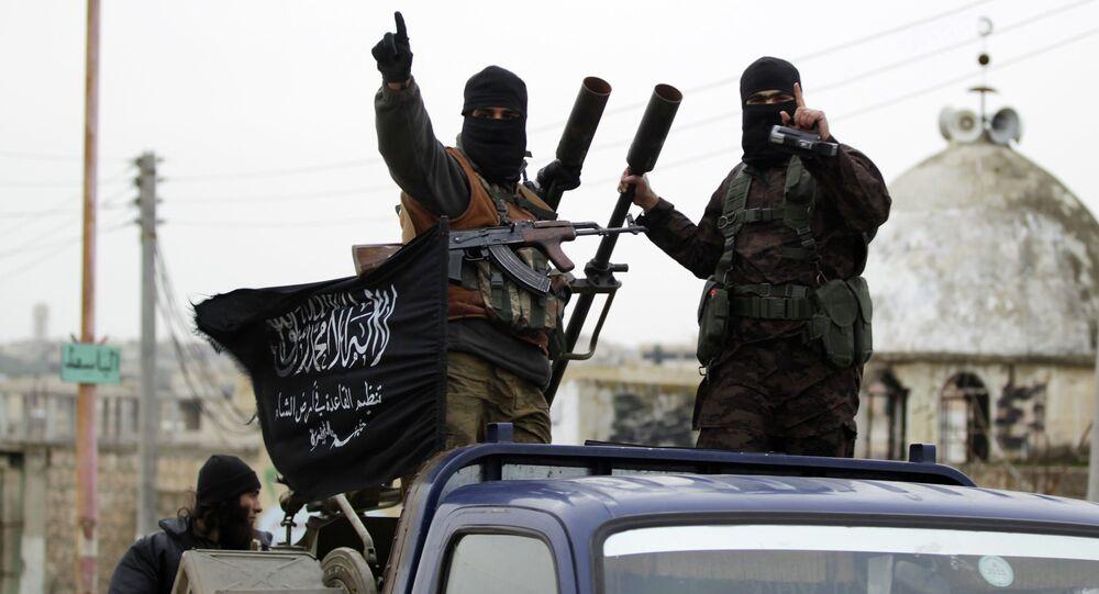 Des combattants du groupe terroriste Etat islamique, Syrie, 2014