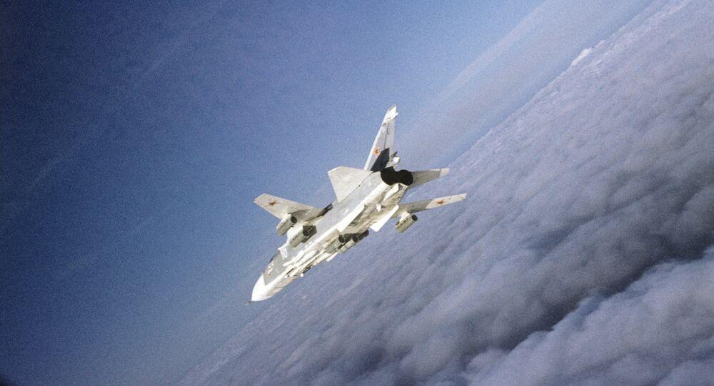 Su-24. Archive photo