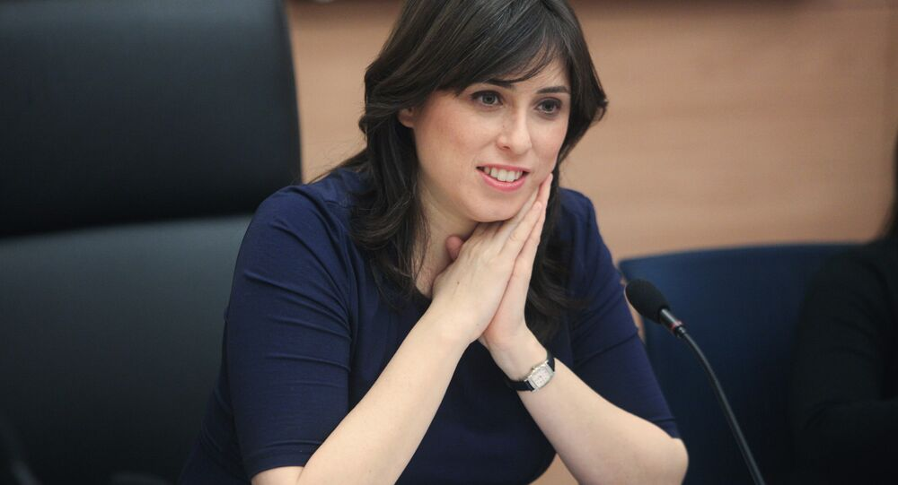 Tzipi Hotovely, ministre israélienne déléguée aux Affaires étrangères
