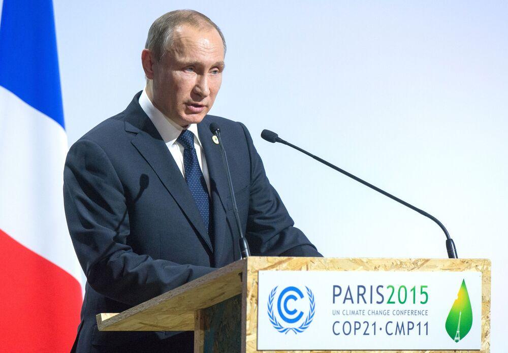 COP 21 : le climat se réchauffe entre Poutine et ses homologues occidentaux