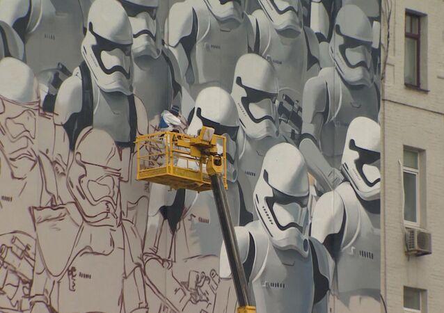 Les soldats de Star Wars débarquent à Moscou