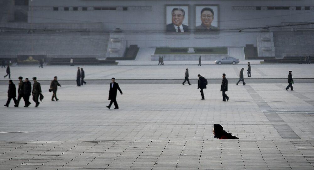 La place Kim Il-sung à Pyongyang