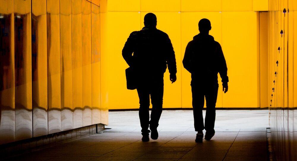 Les silhouettes. Image d'illustration