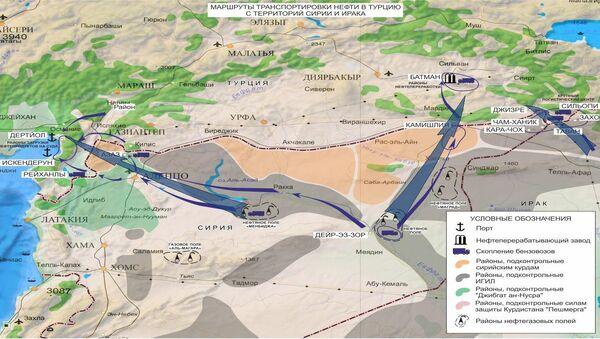 La Turquie, principal consommateur du pétrole volé en Syrie et en Irak - Sputnik France