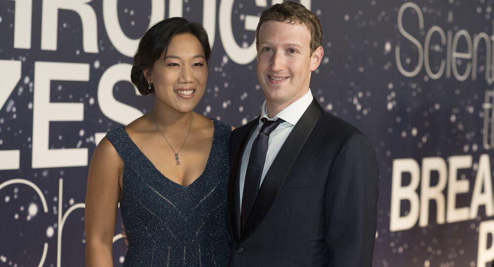Priscilla Chan et Mark Zuckerberg