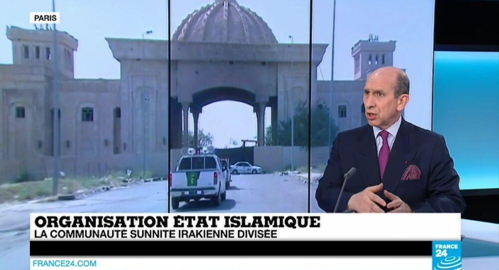 Dominique Trinquand, général, consultant et expert en matière de relations internationales