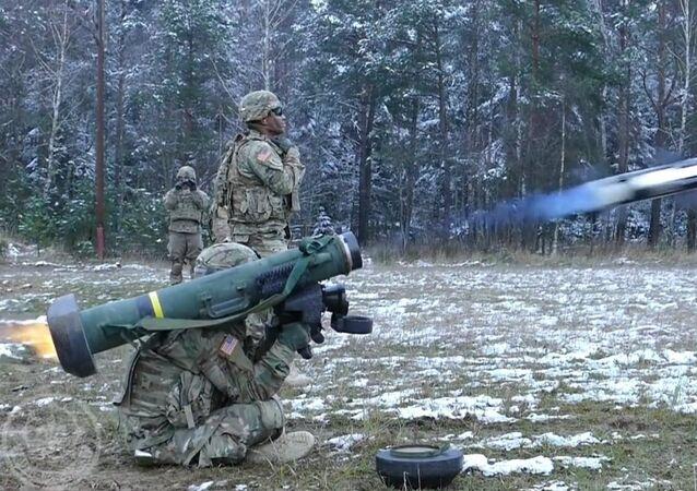 Le Javelin en action