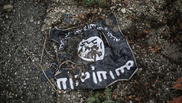 Drapeau du groupe terroriste Daech* - Sputnik France