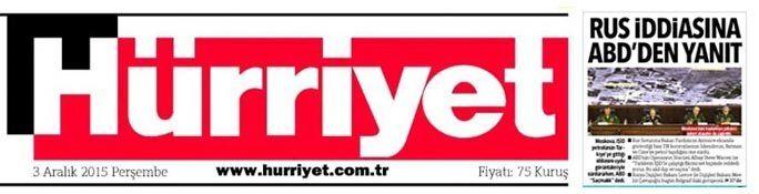 Le quotidien Hürriyet