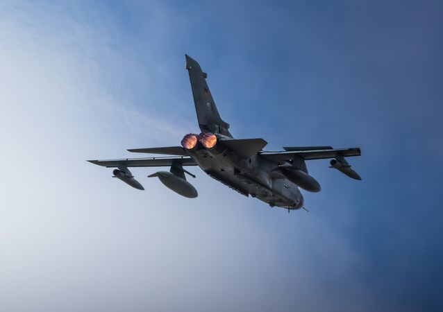 Un Tornado ECR de la Luftwaffe.