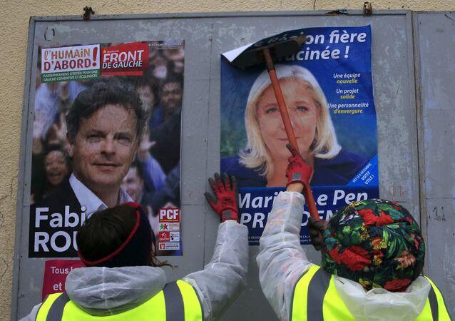 En France, 28% d'intentions de vote pour l'extrême droite avant les régionales